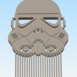 Download STL file 3D printable cosplay hair and beard comb collection • Design to 3D print, delukart