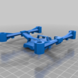 Download free STL file hubsan x4 gen2 frame and landing feet • 3D printing template, delukart