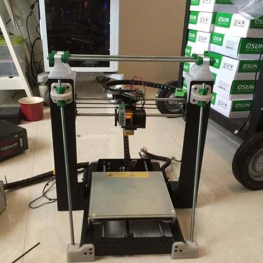 Download free STL file Duplicator i3  3rd-rail Z tower brace • Design to 3D print, delukart