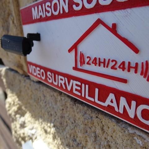 DSC07946.JPG Download free STL file Video Surveillance Panel • Model to 3D print, LaWouattebete