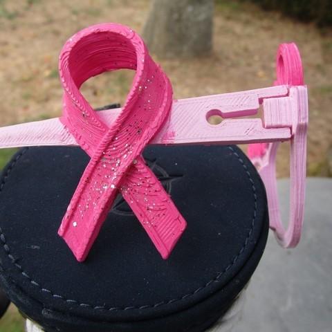 Download free 3D printer model Pink October Glasses ・ La Poste