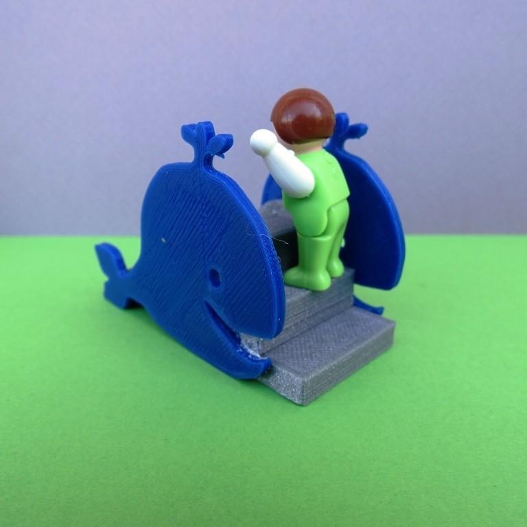 DSC06581.JPG Télécharger fichier STL gratuit Balançoire et Toboggan Playmobil • Plan imprimable en 3D, LaWouattebete