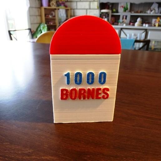 Télécharger fichier imprimante 3D gratuit Boîte jeu 1000 Bornes, LaWouattebete