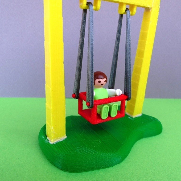 DSC06579.JPG Download free STL file Playmobil Swing and Slide • 3D printing object, LaWouattebete