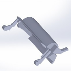 Poignée lave vaisselle2.JPG Download free STL file Dishwasher handle • Template to 3D print, LaWouattebete