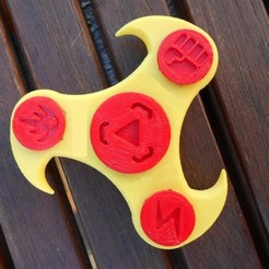 Free 3D printer designs Small Spinner _ Small Spinner, LaWouattebete