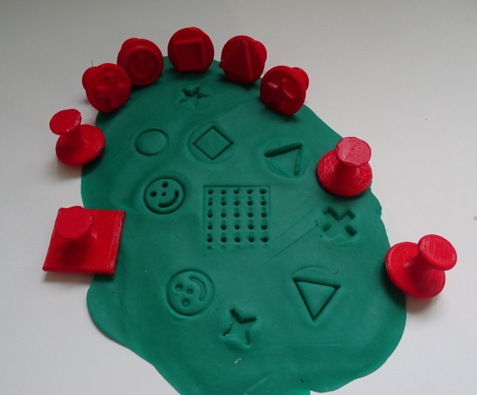 Tampons pâte à modeler _ Stamps.JPG Download free STL file Plasticine Stamp Pads _ Plasticine Stamp • 3D printable template, LaWouattebete