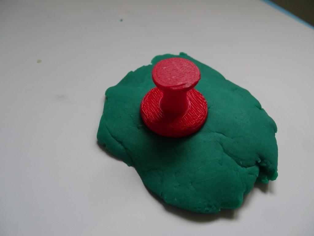 Tampon smiley.JPG Download free STL file Plasticine Stamp Pads _ Plasticine Stamp • 3D printable template, LaWouattebete
