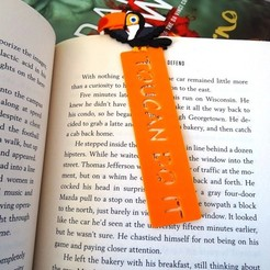 Download free STL Toucan Do It page bookmark, LaWouattebete
