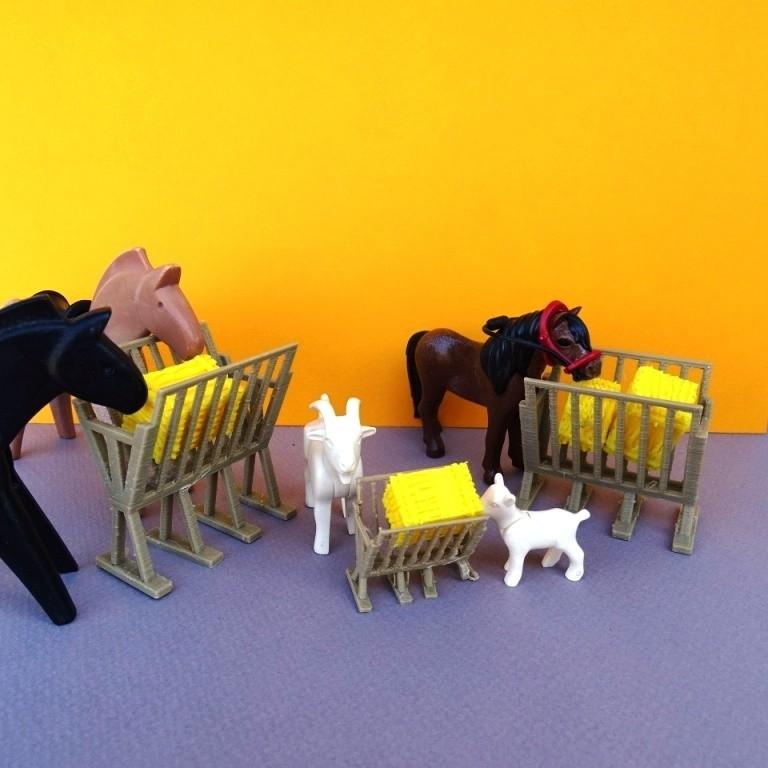 DSC06587.JPG Download free STL file Playmobil Feeder • 3D printer object, LaWouattebete