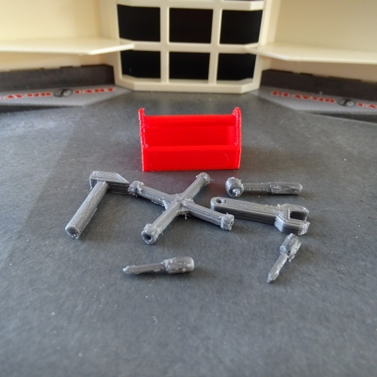 DSC06521.JPG Download free STL file Playmobil Tool Box • 3D printing template, LaWouattebete