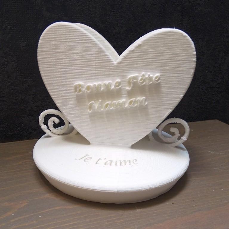 Vase_1.JPG Download free STL file Mother's Day Vase • 3D printer design, LaWouattebete