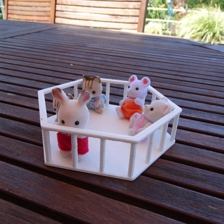 DSC08789.JPG Télécharger fichier STL gratuit Parc pour enfants Sylvanian • Modèle pour impression 3D, LaWouattebete