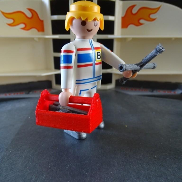 DSC06523.JPG Download free STL file Playmobil Tool Box • 3D printing template, LaWouattebete