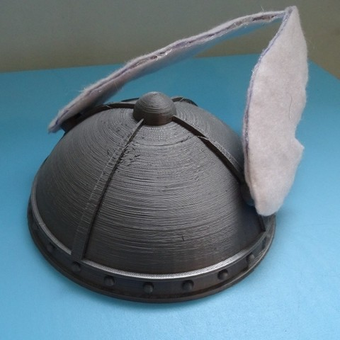 Download free 3D printer designs Helmet Gaulois_Helmet, LaWouattebete