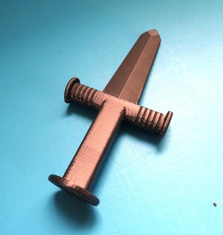 Glaive_Sword.JPG Télécharger fichier STL gratuit Glaive_Sword • Design imprimable en 3D, LaWouattebete