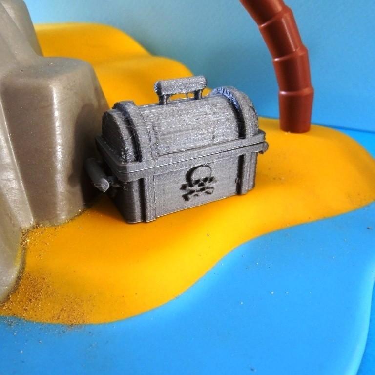 DSC06531.JPG Télécharger fichier STL gratuit Coffre Pirates Playmobil • Design imprimable en 3D, LaWouattebete
