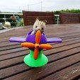 Télécharger fichier STL gratuit Avion sur ressort Petits Malins Sylvanian • Plan à imprimer en 3D, LaWouattebete