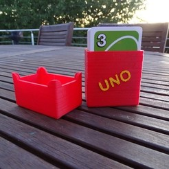 Download free 3D printing files Card box - UNO, LaWouattebete