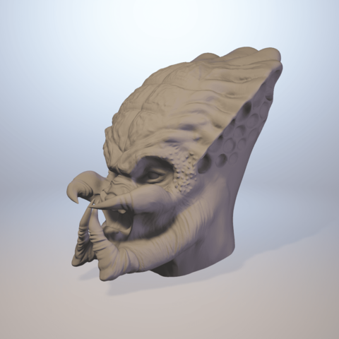 3d Print Model Predator Head 3d Lifesize Model Cosplay Collection ・ Cults