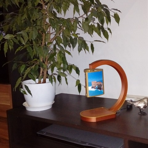 Download STL file Led lapm with levitation • 3D print template, martinaandrea