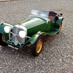 1.jpg Download STL file Jaguar SS 100 - RC model 1/10 • 3D printer model, martinaandrea