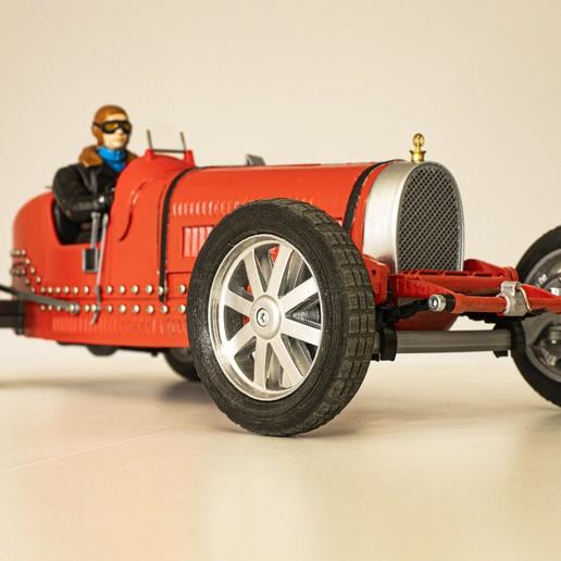 24.jpg Download STL file Vintage cars - 3 + 2 GRATIS !!!! • 3D printer design, 3D-mon