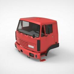liaz 150.1089.jpg Download STL file Liaz Cabin  • 3D printer model, martinaandrea