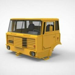 untitled.1082.jpg Download STL file Tatra 813 s1 cabin  • 3D print design, martinaandrea