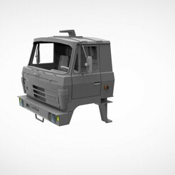 untitled.246.jpg Download STL file Tatra 813 s1 cabin v2 • 3D printable template, martinaandrea