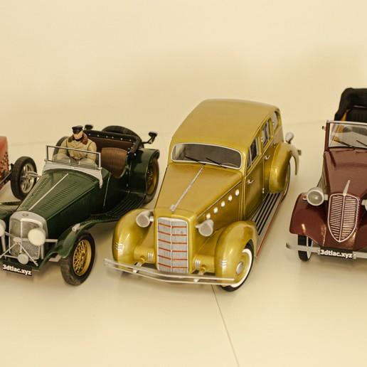 26.jpg Download STL file Vintage cars - 3 + 2 GRATIS !!!! • 3D printer design, 3D-mon