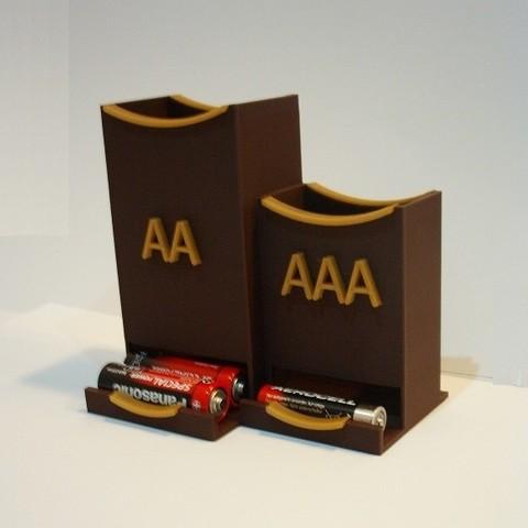 Download STL file Battery holder • 3D printer model, martinaandrea