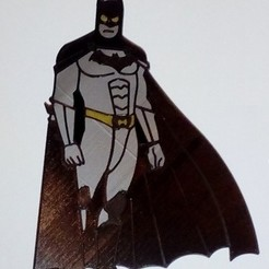 STL file Batman CAKE TOPPER, martinaandrea