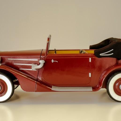 13.jpg Download STL file Vintage cars - 3 + 2 GRATIS !!!! • 3D printer design, 3D-mon