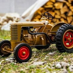 1.jpg Download STL file Replica Zetor 25T 1/10 RC model  • 3D printer design, martinaandrea