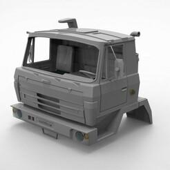 1.230.jpg Download STL file Cabin T 815 1/10 scale  • 3D printing template, martinaandrea