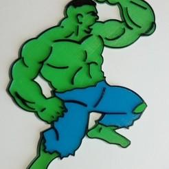 Imprimir en 3D Hulk CAKE TOPPER, martinaandrea