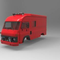 avia furgon.1103.jpg Download STL file Avia 1/10 body for RC  • Model to 3D print, martinaandrea