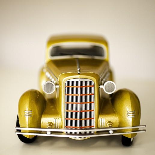 02.jpg Download STL file Vintage cars - 3 + 2 GRATIS !!!! • 3D printer design, 3D-mon