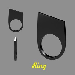 Free 3D printer file Ring, helloloto