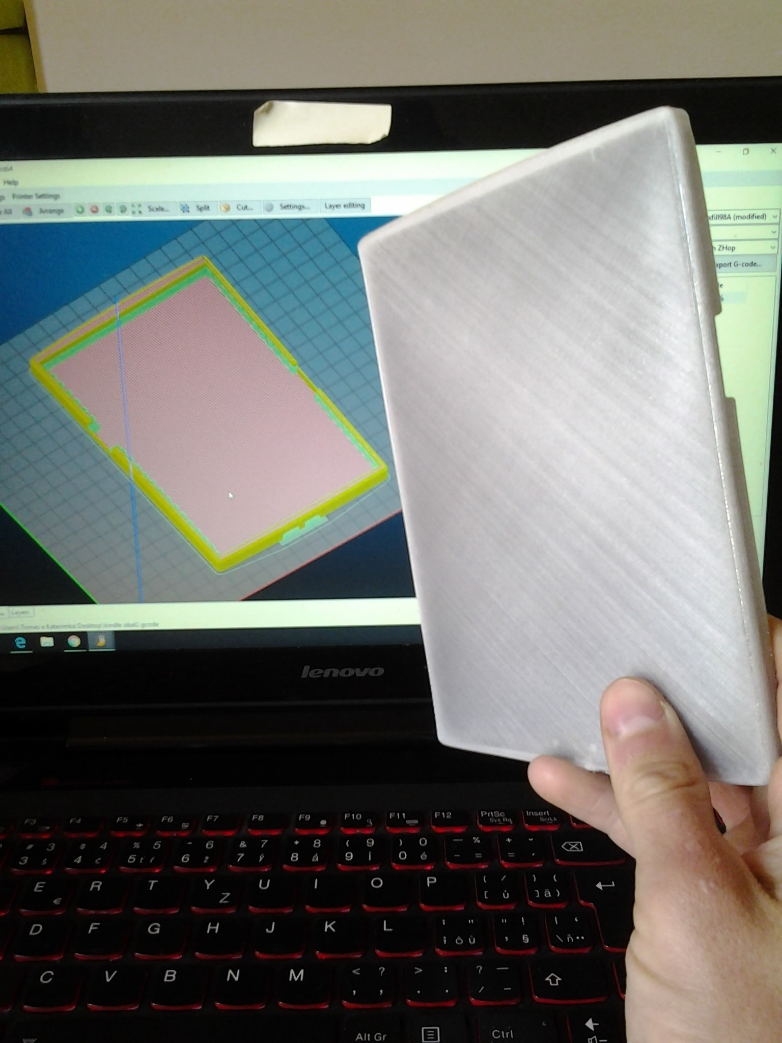 2017-05-18 09.45.57.jpg Download STL file kindle casing • 3D printing template, Amador
