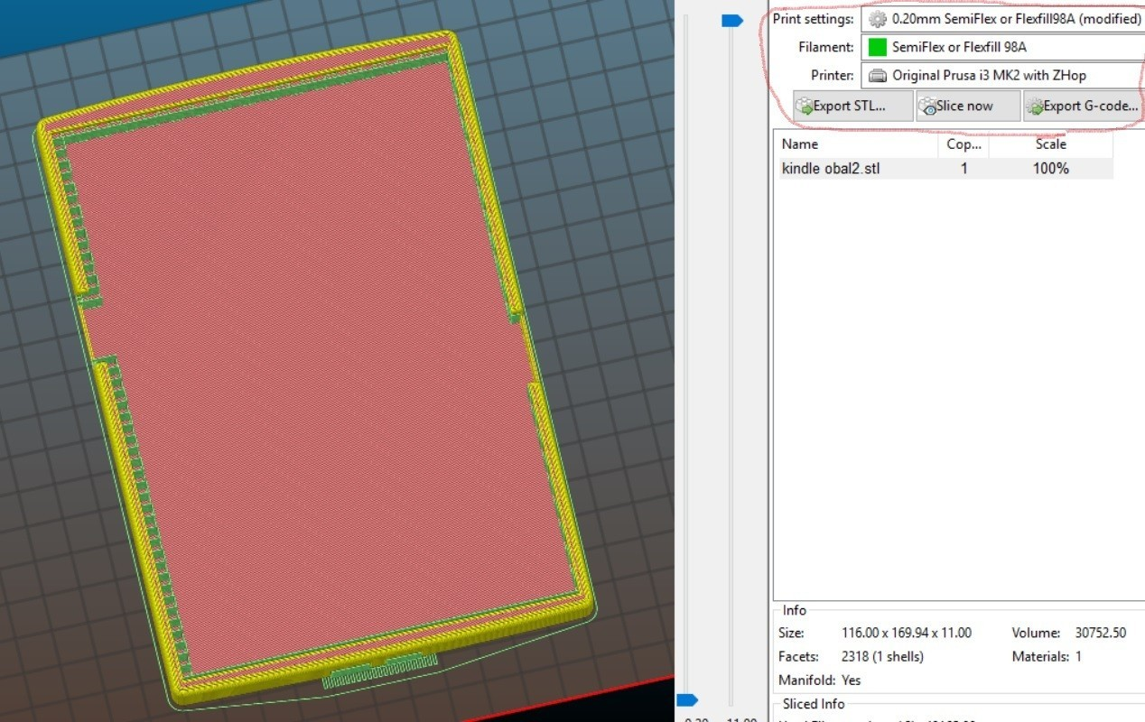 kindle 2.jpg Download STL file kindle casing • 3D printing template, Amador