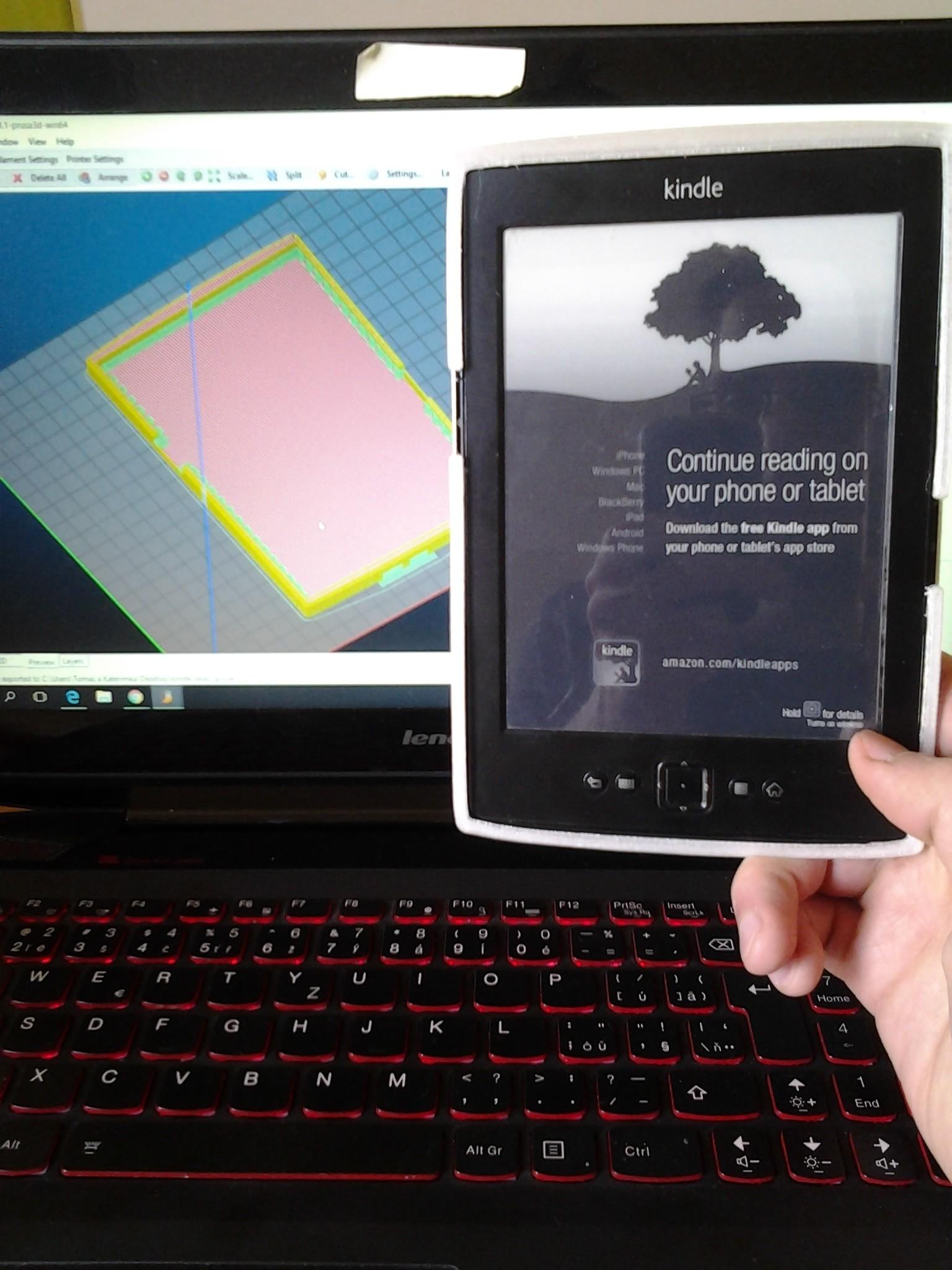 2017-05-18 09.45.39.jpg Download STL file kindle casing • 3D printing template, Amador