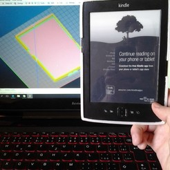 3D printer files kindle casing, Amador