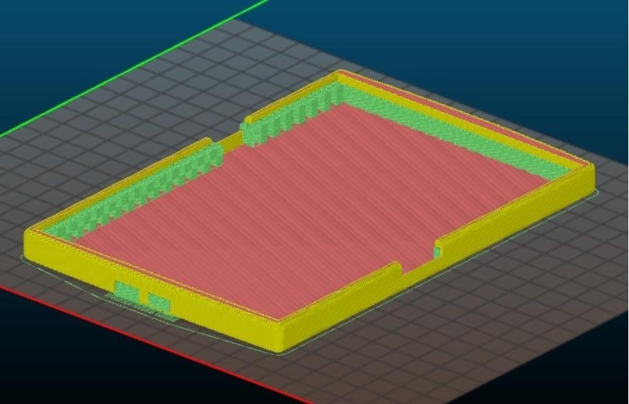 kindle.jpg Download STL file kindle casing • 3D printing template, Amador