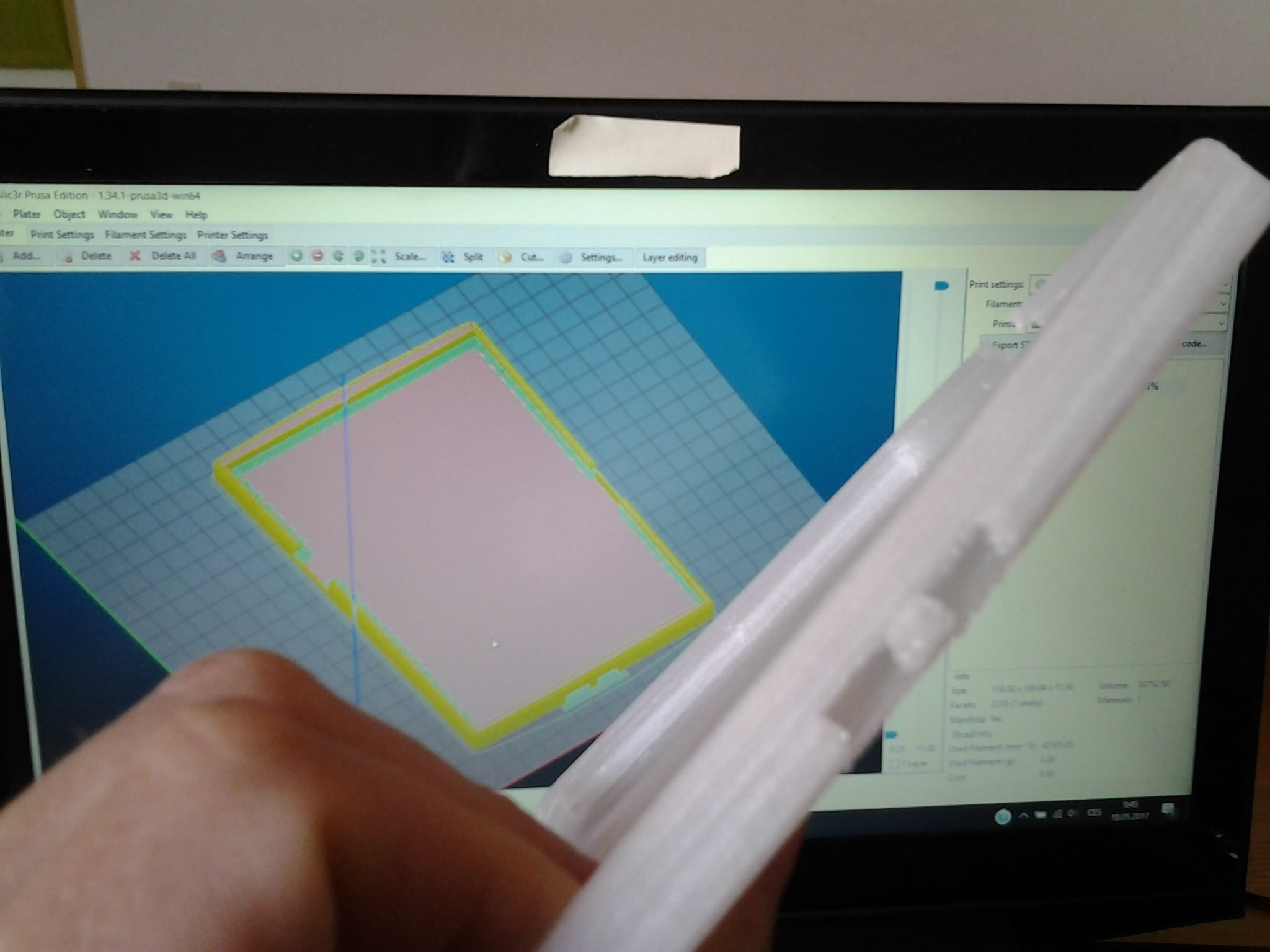 2017-05-18 09.47.29.jpg Download STL file kindle casing • 3D printing template, Amador