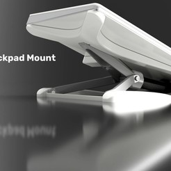 Free 3d print files Magic Trackpad Mount (adjustable), Elliott