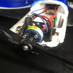 Free STL UMX Sbach Propeller Adapter, Elliott
