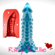 riley-ellie-viper-mold-logo.png Download STL file Viper Mold • 3D printer design, RileyAndEllie