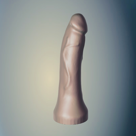 Download STL file Straight Cock • Template to 3D print, RileyAndEllie